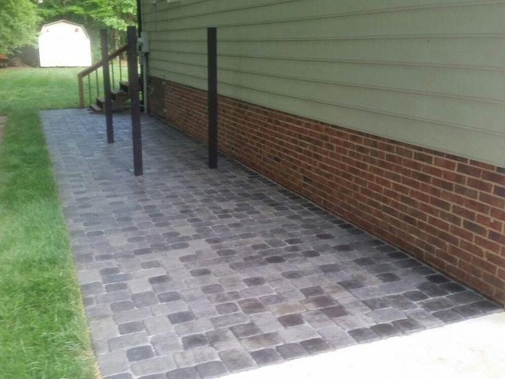 Sealed pavers