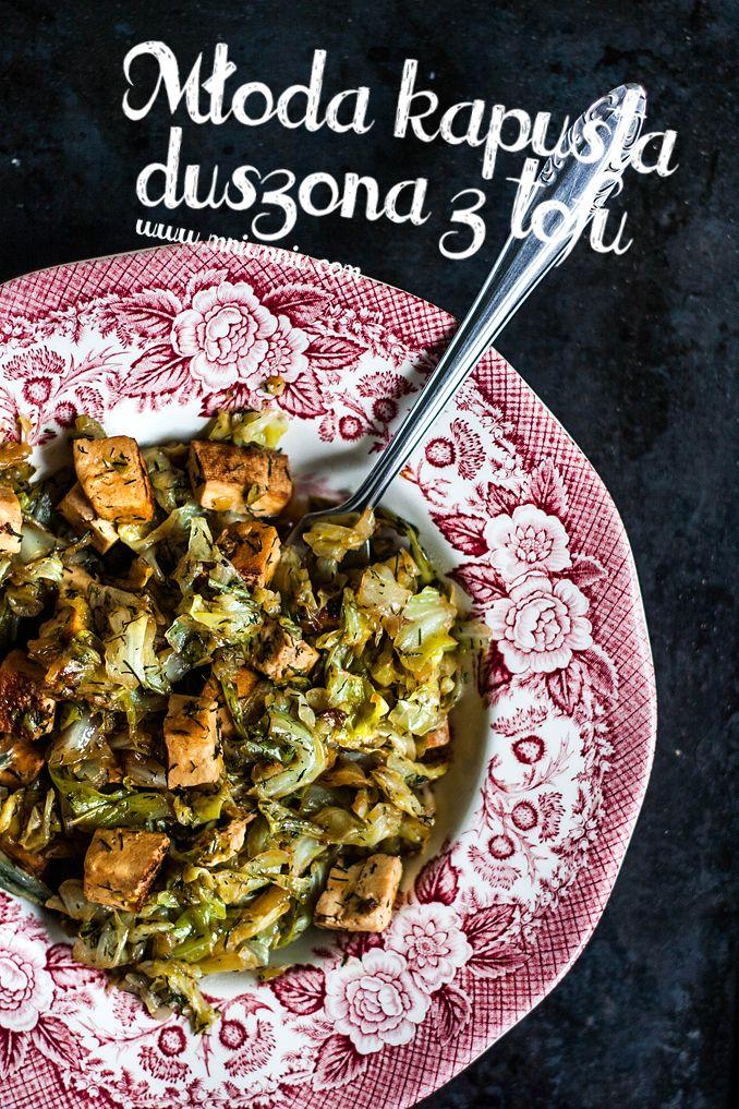 Mniumniu Kuchnia Roslinna Mloda Kapusta Duszona Z Tofu Recipes