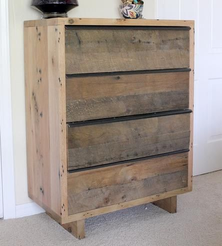 Bree Reclaimed Oak Dresser | This Bree reclaimed oak dresser has the best of both worlds: r... | Dressers