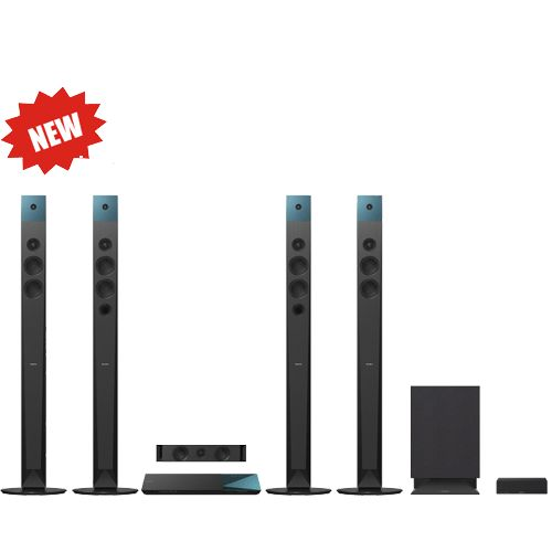 SONY BDV-N9100W/B Σύστημα οικιακού κινηματογράφου 4K και Blu-ray™ 3D Κάντε κάθε ταινία μια συναρπαστική εμπειρία Full HD 3D, αναβάθμιση σήματος 4K, τεχνολογία Triluminos Colour, 4 ψηλά ηχεία Magnetic Fluid, NFC, Bluetooth® και Wi-Fi® Απολαύστε καθαρό κινηματογραφικό ήχο Surround χωρίς παραμόρφωση Παρακολούθηση σε Full HD 3D ή με την πανίσχυρη λεπτομέρεια της ανάλυσης 4K Ακούστε μουσική από το smartphone σας με ένα άγγιγμα