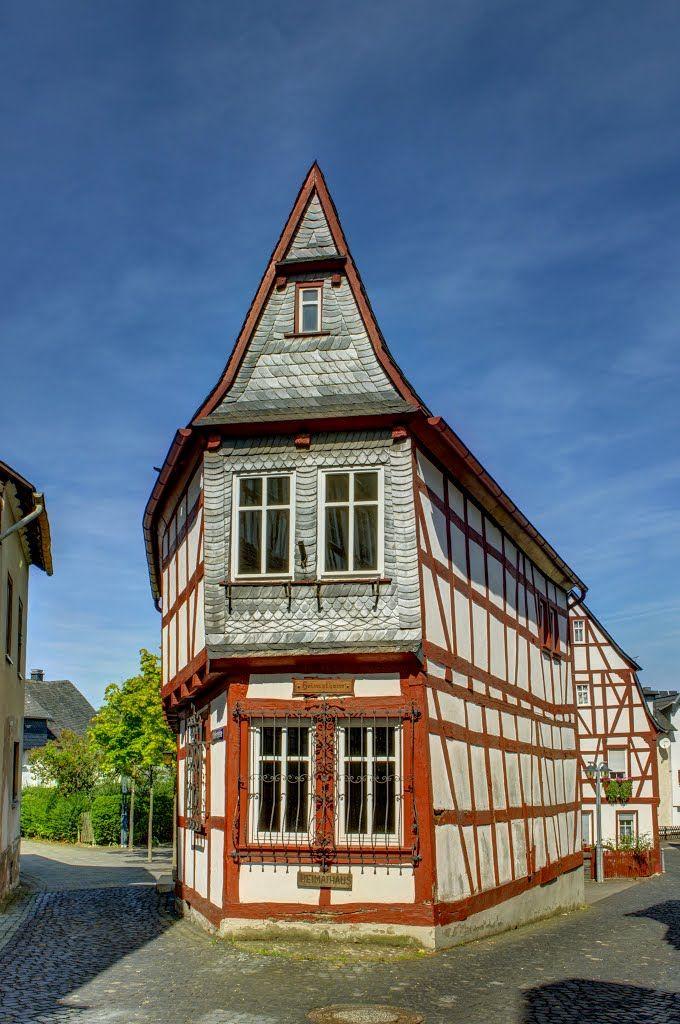 House in Kirchberg, Hunsrück.