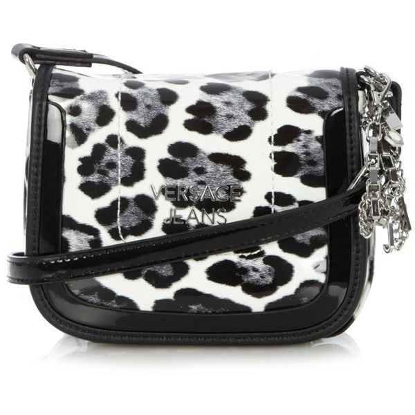 Black animal mini cross body bag ($145) ❤ liked on Polyvore featuring bags, handbags, shoulder bags, purses, accessories, bolsas, animal print shoulder bag, mini crossbody purse, mini cross body purse and hand bags