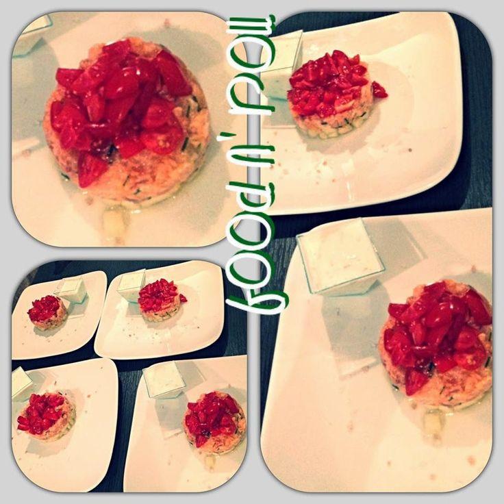 FOOD N' ROLL   ......................   il blog   ...: TARTARE DI SALMONE E MELONE...