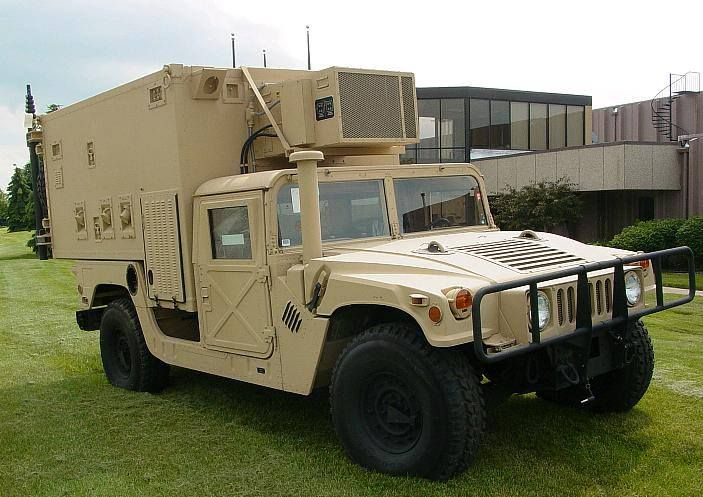 Hmmwv Mobile Command Vehicle This Could End Up Being A