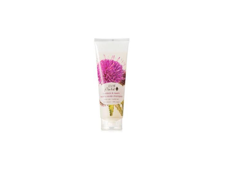 100% Pure šampon Lopuch a neem