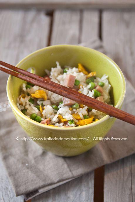 Riso alla cantonese come quello del ristorante cinese! - Trattoria da Martina - cucina tradizionale, regionale ed etnica