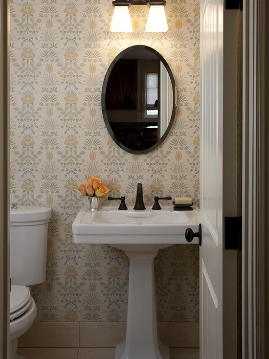 24 best images about half bathroom ideas on pinterest for Half bathroom ideas pinterest