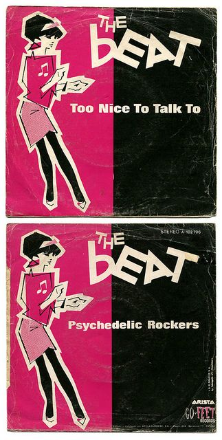 Too Nice To Talk To b/w Pyschedelic Rockers. The Beat, Arista-Go Feet Records/Spain (1981) ska