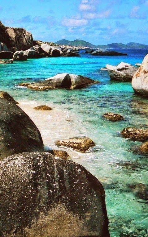 Virgin Gorda,second most populous of the Virgin Islands