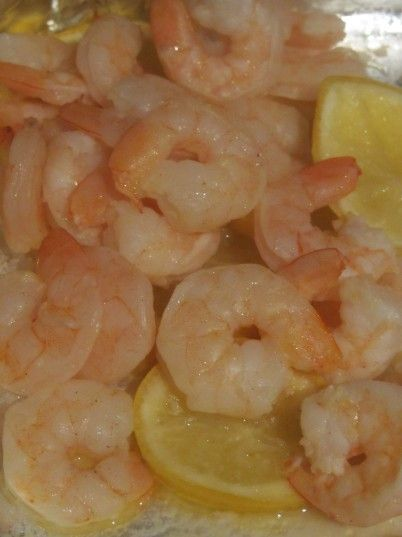 Baked Shrimp... mine doesn't look as good as the picture here, but was delicious!