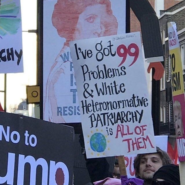 """""""Our future #WomensMarch"""""""