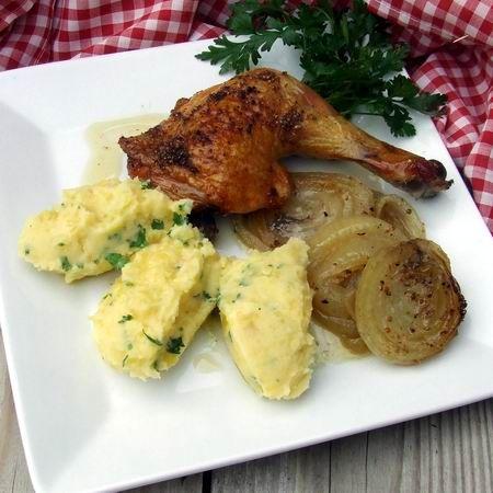 Rozmaringos-fehérboros csirkecomb