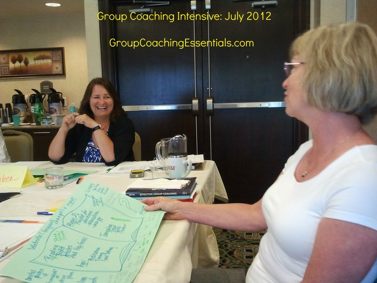 It's all about the Conversation! Group Coaching Intensive July 2012 - www.groupcoachingessentials.com