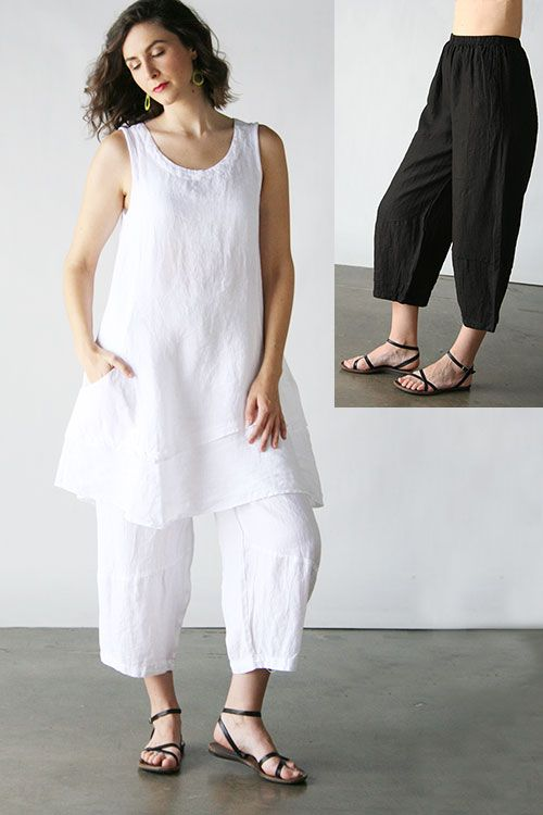 Product Image: Lantern Pant Hanky Linen in Cut Loose Clothing: Cut Loose Spring 2015
