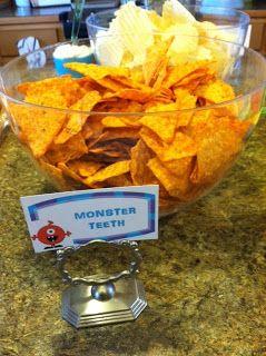 Monster theme food!                                                                                                                                                                                 More