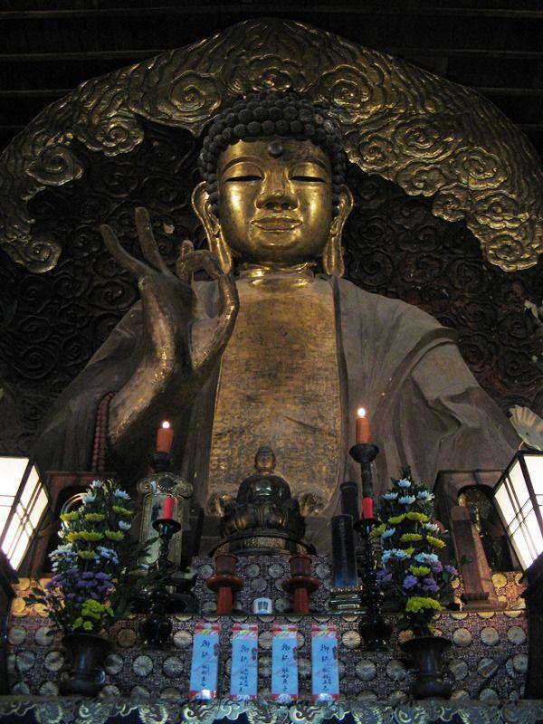 岐阜大仏 Gifu Daibutsu in Gifu City