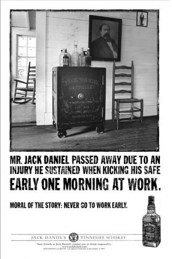 jack daniels funny poster advertising never go to work early jack daniels funny poster advertising never go to work early workhumour funny stuff jack daniels bourbon and bourbon whiskey