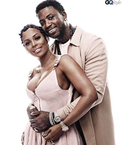 Gucci Mane and his fiancée Keyshia Ka'oir are posing it up for GQ Style