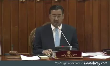 Taliban attacked the Afghanistan parliament. It takes more than that to scare him... WTF