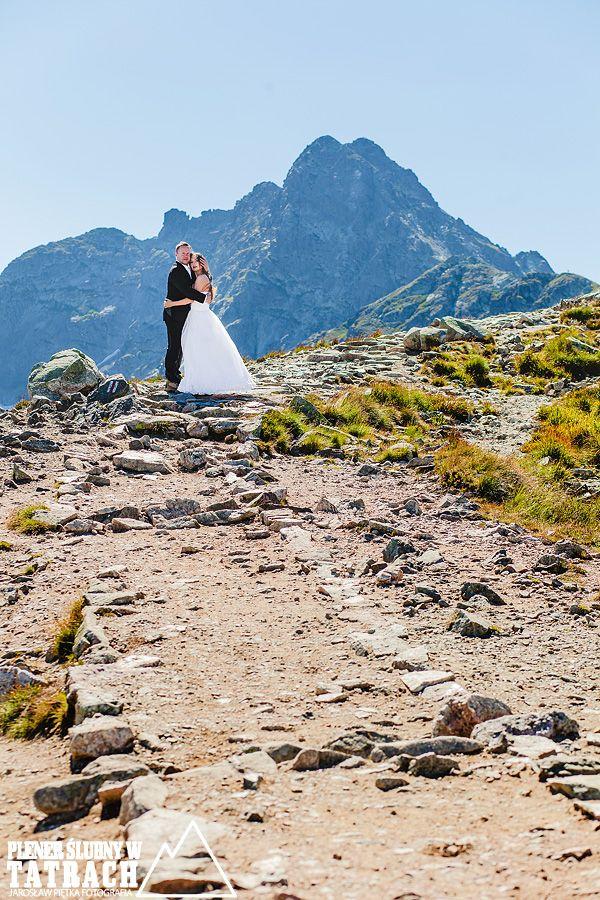 Zdjęcia ślubne w górach, Świnica, Kasprowy, Tatrzański plener ślubny