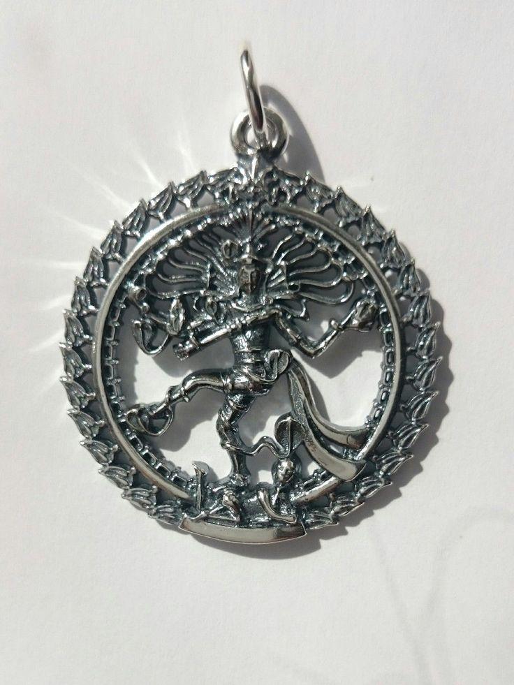 "Серебряная подвеска ""Шива Натараджа""  , фото 1"