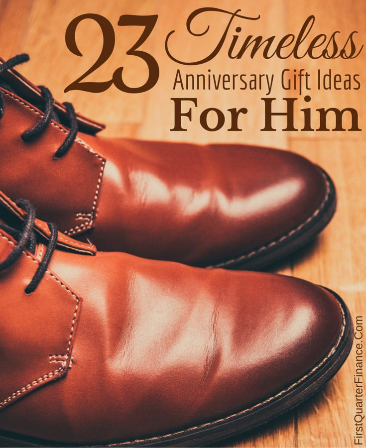 Traditionally, 3-year wedding anniversaries are celebrated with leather gifts. Here are 23 timeless ideas to help you find the perfect leather gift for him!