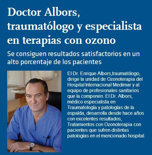 Descubre qué es la #Ozonoterapia en este interesante artículo del Doctor Albors.