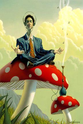 Artist:  Brad Weinman: Mushrooms Pics, Magic Mushrooms, Fanta Fantasy, Fantasy En, Mushrooms Recessed, Magick Mushrooms, Shroomi Art, Mushrooms Meditation, Mushrooms Secret