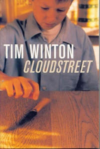 Heather Ramsey review Cloudstreet by Tim Winton Set in the 1940/50s, the books focus is on two stoutly Australian families: one workshy and ungodly, the other hardworking believers. Each chapter takes a set of characters in turn and follows their misfortunes and happier moments, whilst always seeming to return to Fish, the central character, who after a swimming accident suffered brain damage. The richness of the lives of the families can only be appreciated by reading this book at least…
