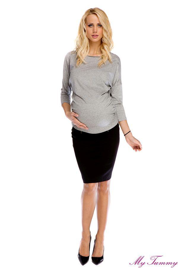 Bluzka ciążowa Rachel z kokardą