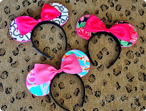 DIY Custom Minnie Mouse Ears