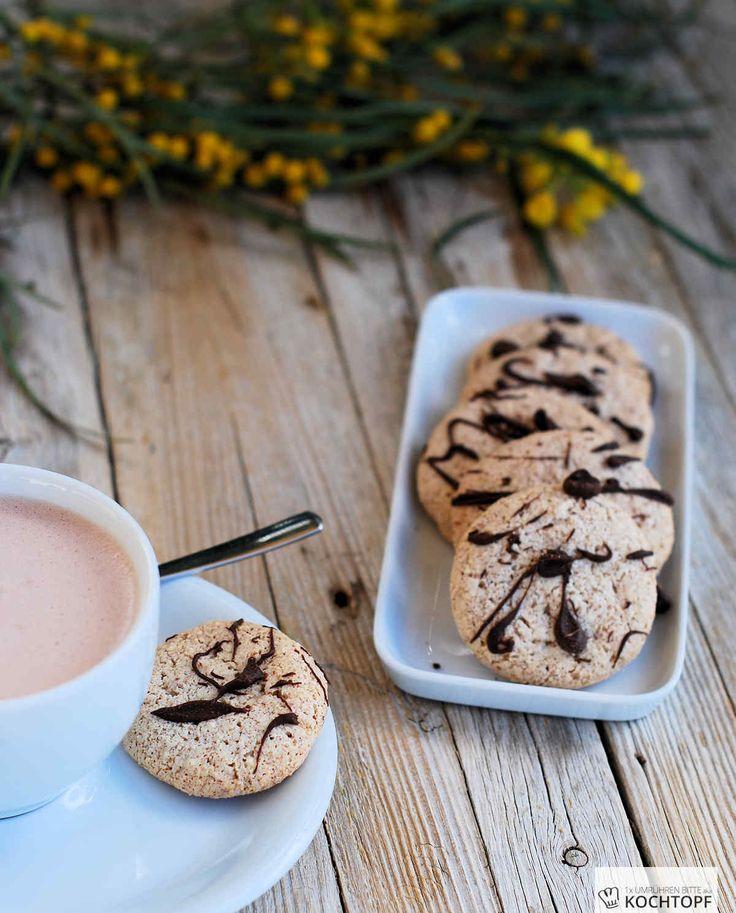 Mandel-Eiweiss-Cookies