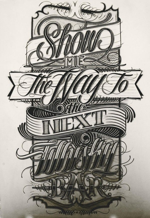 Typography inspiration | #689 « From up North | Design inspiration