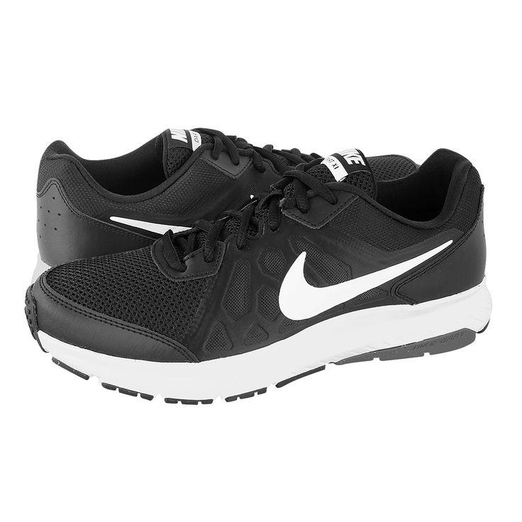Dart 11 - Ανδρικά αθλητικά παπούτσια Nike από υφασμα, δερμα και συνθετικο με υφασμάτινη φόδρα και συνθετική σόλα.  Διατίθεται σε χρώμα Μαύρο-Λευκό.