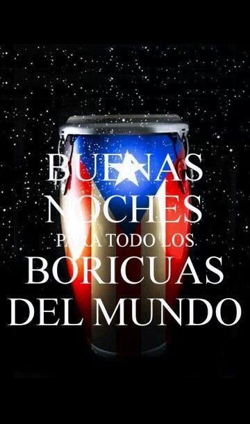 Buenas noches boricuas ♡♥
