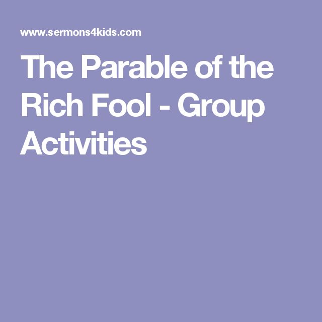 8 best parable of rich fool images on pinterest bible for The rich fool coloring page