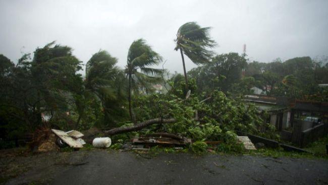 Tras arrasar Dominica, el huracán María recupera la categoría 5 y se dirige hacia Puerto Rico y las Islas Vírgenes | El Puntero
