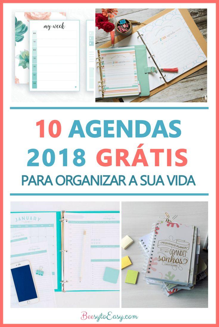 Agendas para imprimir 2018