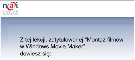 Movie Maker - NAI