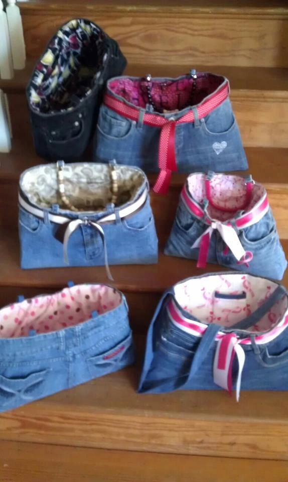 Jean Purse's by CrystalsPurses on Etsy, $45.00