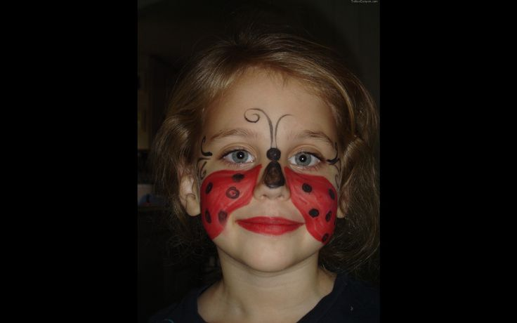 Ladybug Face Painting Picture 6029