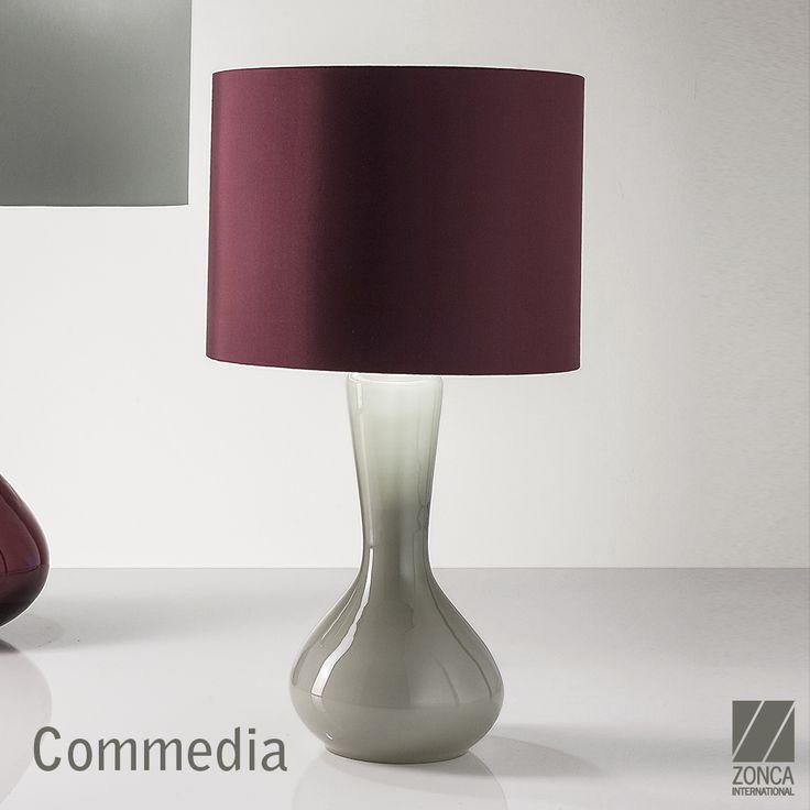 Commedia Modern Bedside Lamp - Design: Zonca #zonca #zoncalighting #madeinzonca