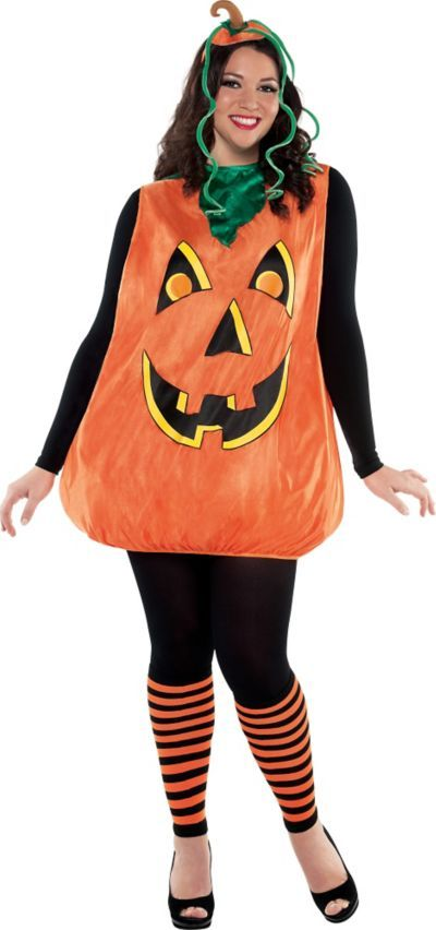 Shop for Adult Pretty Pumpkin Costume Plus Size and other Women s Halloween  Costumes online at PartyCity.com. Save with Party City coupons and specials. 07cba15481