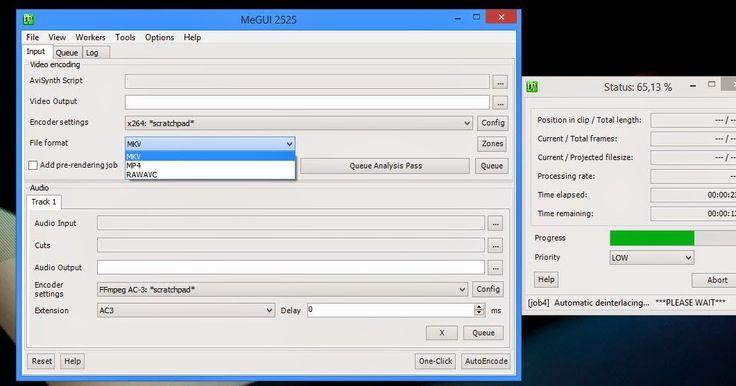 Το MeGUI είναι μια εφαρμογή μετατροπής βίντεο που αρχικά είχε σχεδιαστεί για καθήκοντα DVD Ripper όμως είναι ικανή να αναλάβει πολύ περισσότερα καθήκοντα . Πρόκειται ουσιαστικά για ένα frontend για πολλά δωρεάν εργαλεία που περιλαμβάνει μια σειρά από βοηθητικά προγράμματα για την ενίσχυση της διαδικασίας της μετατροπής.Είναι ίσως η πιο ολοκληρωμένη εφαρμογή με βάση το πρότυπο ISO λύση MPEG-4. Στα κύρια χαρακτηριστικά και τις δραστηριότητες του προγράμματος περιλαμβάνονται η μετατροπή των…