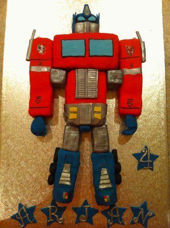 Eeeek! An Optimus Prime cake for saturday - Create A Cake - BabyCentre