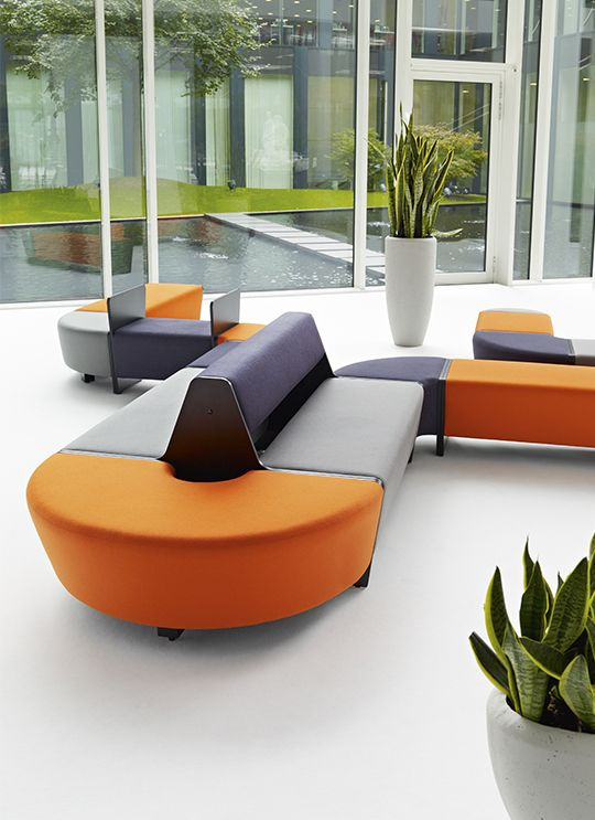 MAGNES II keeps attracting - now with twice the power. The simple form, variety of shapes and countless number of combinations make it an irresistible solution. The modernised MAGNES II seating system has not only an improved in form but also a number of new functionalities. The Magnes II is a modular seating system perfect for use in public spaces. #MakeYourSpace #CDW2017