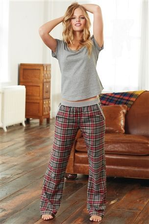 Buy Check Flannel Pyjamas from the Next UK online shop £25 Size s, but not tried it on