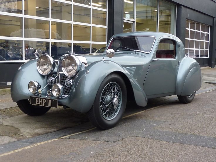 1938 Jaguar SS100 Fixed Head Coupe Prototype