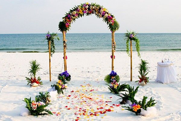Tropical Fruit Platter For A Beach Wedding: 17 Best Ideas About Beach Wedding Aisles On Pinterest