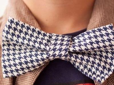 Adjustable Bow Tie {tutorial}